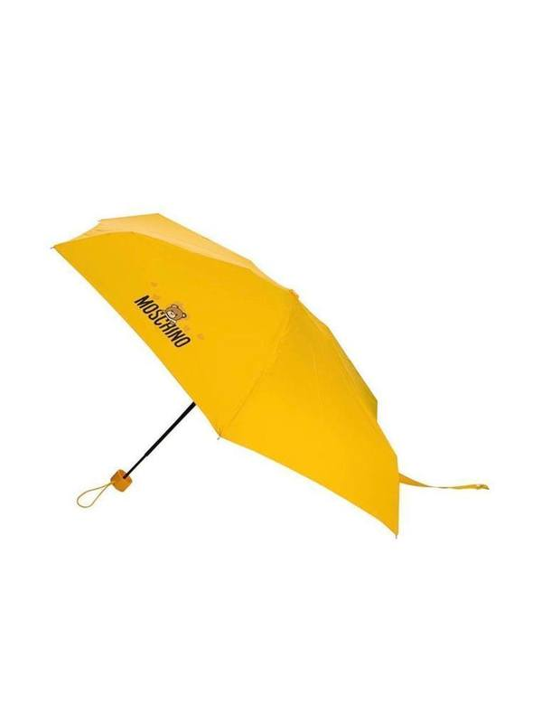 Moschino Logo Print Umbrella