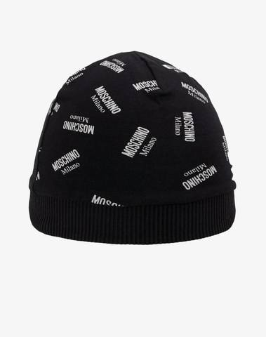 Moschino Hat With All Over Logo