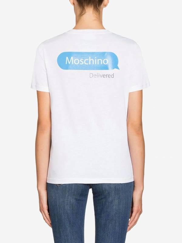 Moschino Jersey T-Shirt Chat