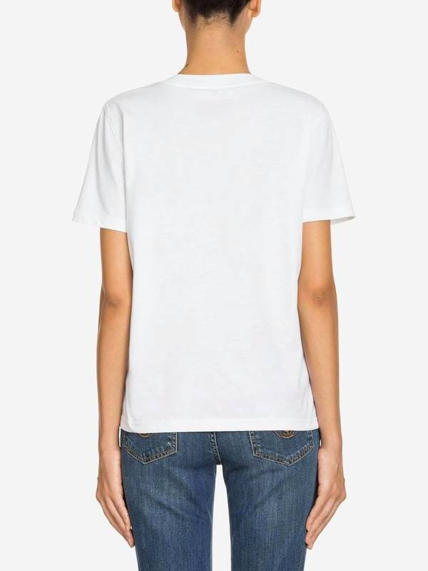 Moschino White Trick Or Chic T-Shirt