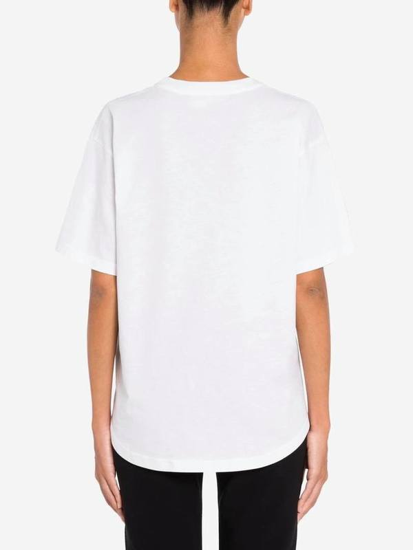 Moschino White T-Shirt Logo Signature