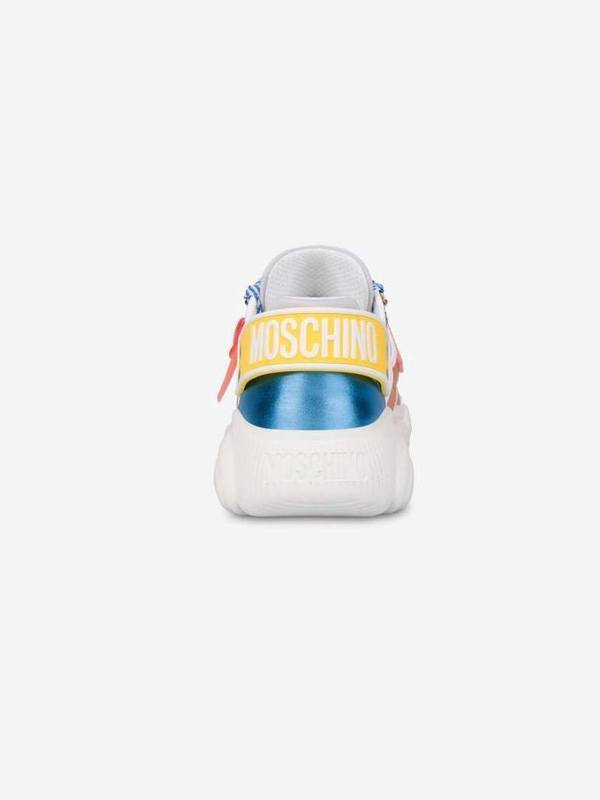 Moschino Multi-Color Roller Skates Teddy Shoes