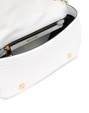 Moschino White Jacket Style Cross Body Bag